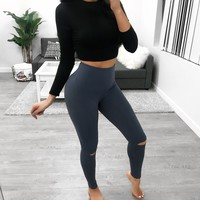 Jade Leggings (blue)