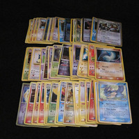 For CRAFTING: Lots of 10x POKEMON Pokeman Mixed USED Cards ~ Only Rares/Holos/Promos - Great for making bookmarks, wallets, sketchbooks, etc