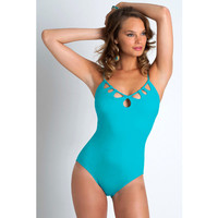 Sexy Hot New Arrival Swimsuit Summer Women's Fashion Casual Beach Hollow Out Swimwear Bikini [4920555524]
