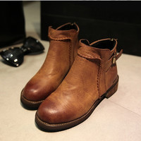 New arrivals womens autumn/winter fur lined boots = 1931603844