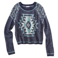 Xhilaration® Juniors Tribal Sweater - Assorted Colors