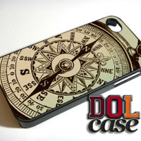 Nautical Compass iPhone Case Cover iPhone 4s iPhone 5s iPhone 5c iPhone 6 iPhone 6 Plus Free Shipping  Consta 189