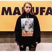 Heron Preston Woman Men Fashion Top Sweater Pullover Hoodie