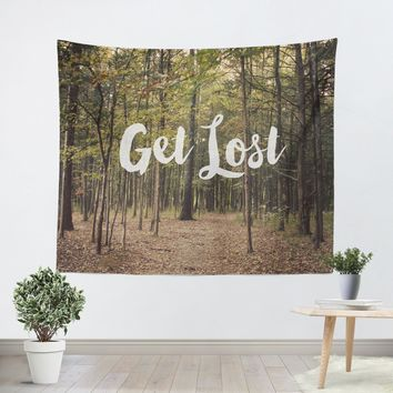 Get Lost Tapestry