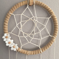 Hint of Sparkle ~ Small Dreamcatcher Boho Wall Hanging