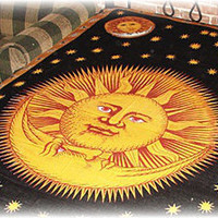 TrippyStore.com - Sun And Moon - Celestial - Tapestry