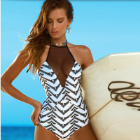 Fashion Summer Sexy Slim Bodycon Swimsuit Bathing Suit Bikini Beach wears  = 4769195780