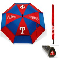 MLB Philadelphia Phillies Umbrella Golf Double Canopy