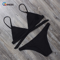 New Trending Women Brazilian Swimwear Bikini Set