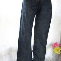Ralph Lauren POLO JEANS Women's Stretch KELLY JEAN RL 12x30 Women's Low Boot