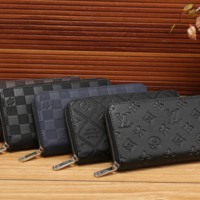 LV Long leather fashion Zipper Wallet [305704042525]