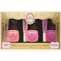 Too Faced Melted Kisses & Sweet Cheeks SET