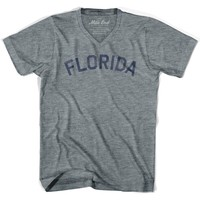 Florida City Vintage V-neck T-shirt