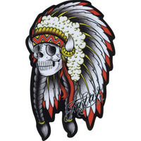 Fatal Chiefin Sticker Red One Size For Men 23016330001