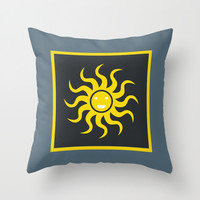 Sunny Day Throw Pillow by MJ Mor