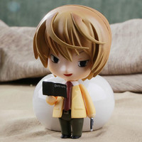 Anime Cute Nendoroid Death Note Yagami Light #12 PVC Action Figure Collectible Model Toy 10CM KT374