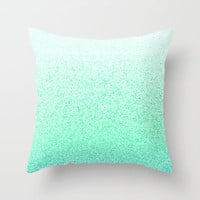 I Dream in Mint Throw Pillow by M Studio