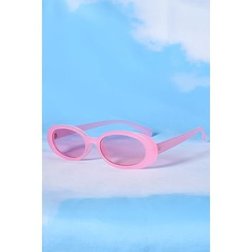 Permanent VK Oval Sunglasses