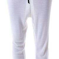 Obesity and Speed Baby Thermal Draped Sweatpants White
