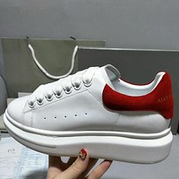 Alexander McQueen Women Man Fashion Simple Casual Shoes