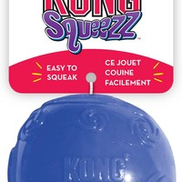 KONG Squeezz Ball Dog Toy, Color Varies