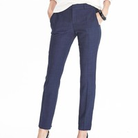 Ryan-Fit Lightweight Wool Solid Pant | Banana Republic