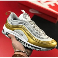 Nike Air Max 97 Retro Bullet Full Palm Air-cushioned Running Shoes