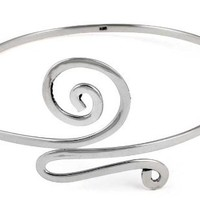 Fancy Sterling Silver Arm Cuff Upper Arm Band