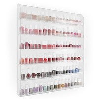 Home-it Nail Polish Rack Nail Polish Organizer Holds up to 102 Bottles
