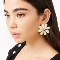 Oversized Daisy Stud Earrings