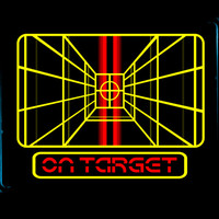STAY ON TARGET... Art Print by BeastWreck