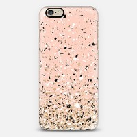 Peach Party Confetti Explosion iPhone 6 case by Organic Saturation | Casetify