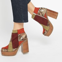 ASOS EXPRESSION 70s Ankle Boots
