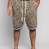 Animal Print Basketball Shorts
