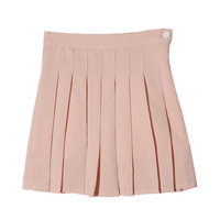 Zippered High Waist Tennis Skirt | STYLENANDA
