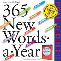 365 New Words-a-Year 2013 Page-A-Day Calendar
