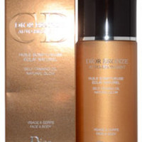 Unisex Christian Dior Dior Bronze Self Tanning Oil Natural Glow Face & Body Tanning Oil - 1 Units