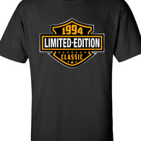 20th Birthday Shirt - 1994 Limited Edition Classic B-day T Shirt Cool hipster swag mens womens ladies TShirt T-Shirt T Shirt Tee  - DT-610