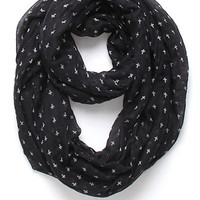 With Love From CA Mini Cross Infinity Scarf at PacSun.com