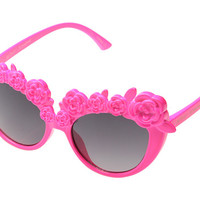 Betsey Johnson Cat With Flowers (Youth) Pink - Zappos.com Free Shipping BOTH Ways