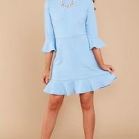 My Favorite Night Light Blue Dress (BACKORDER MAY)