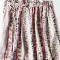AEO Women's Don't Ask Why Flowy Knit Skirt (Natural)