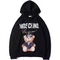 Moschino Women or Men Fashion Casual  Top Sweater Hoodie