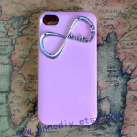 One Direction--Infinity iphone 4s case, unique iphone 5 case, handmade iphone 4 cover case