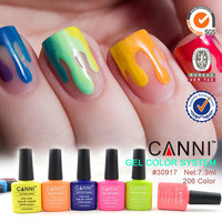 Online Shop CANNI gel polish LED/UV /Soak off colors polish gel 206colors can choose 7.3ML*6pcs #30917|Aliexpress Mobile