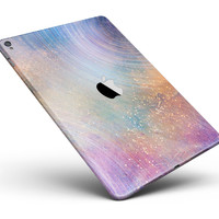 """The Swirling Tie-Dye Scratched Surface Full Body Skin for the iPad Pro (12.9"""" or 9.7"""" available)"""