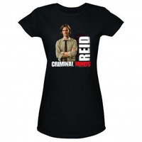 Criminal Minds Agent Reid Women's Junior Fit T-Shirt