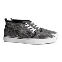 Patterned sneakers - from H&M