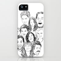 Parks and Recreation 'Rec a Sketch' iPhone & iPod Case by Moremeknow