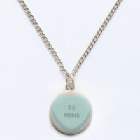 be mine heart candy charm